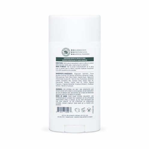 Schmidt's Hemp Sage & Vetiver Antiperspirant Deodorant Stick Perspective: back