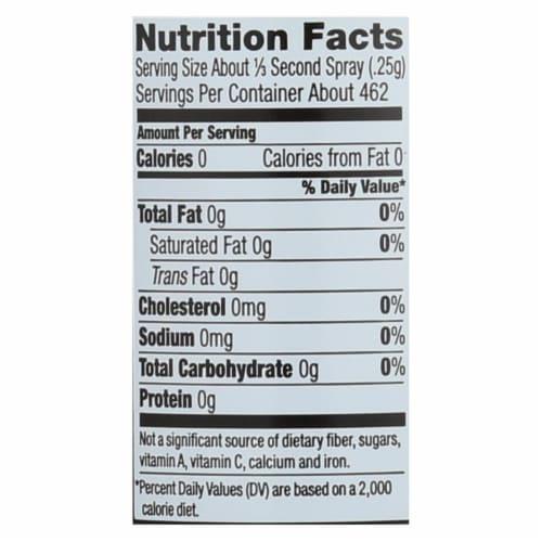Spectrum Naturals Organic Extra Virgin Olive Spray Oil - Case of 6 - 5 Fl oz. Perspective: back