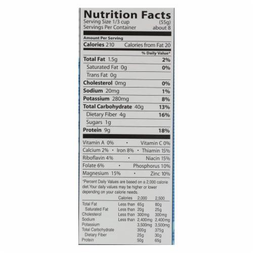 Eden Foods - Pasta - Vegetable Alphabets - Case of 6 - 16 oz. Perspective: back