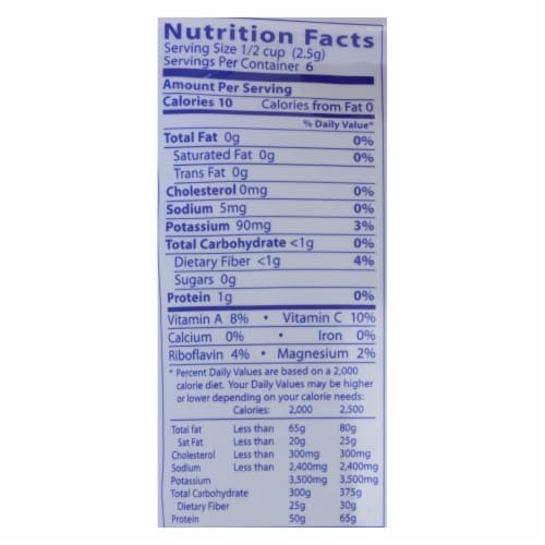Eden Foods - Sea Vegetable Toasted Nori - Case of 6 - .53 OZ Perspective: back