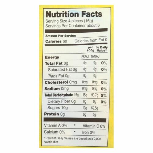 Go Organic Hard Candy - Honey Lemon - 3.5 oz - Case of 6 Perspective: back