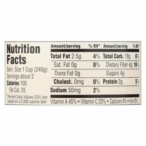 Health Valley Organic Soup - Vegetable No Salt Added - Case of 6 - 15 oz. Perspective: back