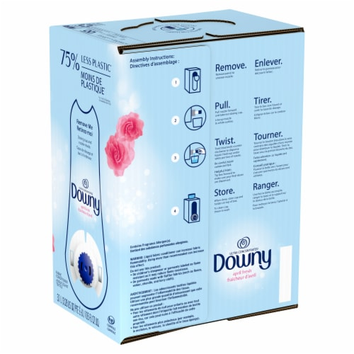 Downy April Fresh Liquid Laundry Detergent Perspective: back
