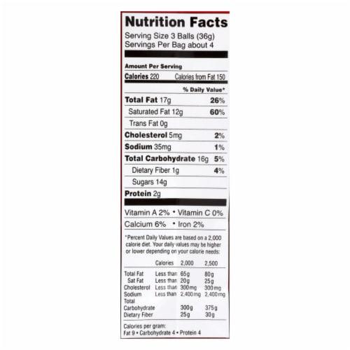 Lindt - Truffles Milk Chocolate Bag - Case of 6-5.1 oz Perspective: back