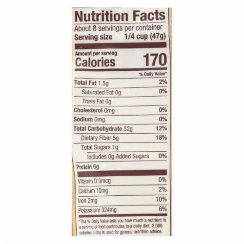 Bob's Red Mill Organic Whole Grain Quinoa - Case of 6 - 13 OZ Perspective: back