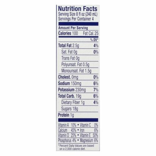 Almond Breeze - Almond Milk - Chocolate - Case of 6 - 4/8 oz. Perspective: back