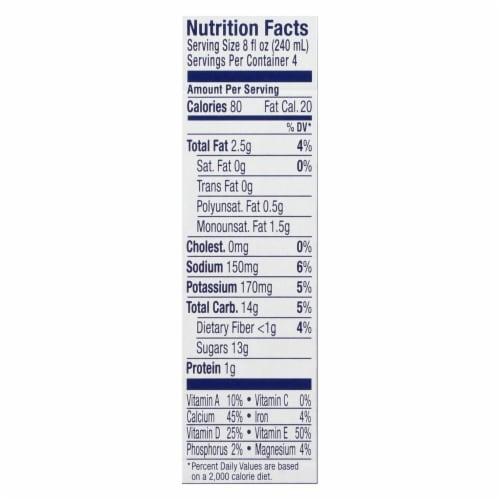 Almond Breeze - Almond Milk - Vanilla  - Case of 6 - 4/8 oz. Perspective: back