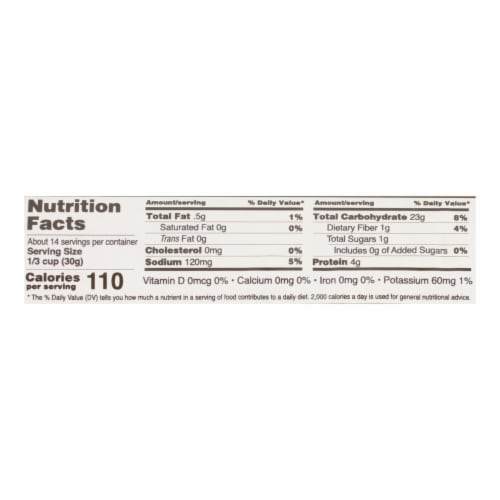 Edward and Sons Organic Breadcrumbs - Lightly Salted - Case of 6 - 15 oz. Perspective: back