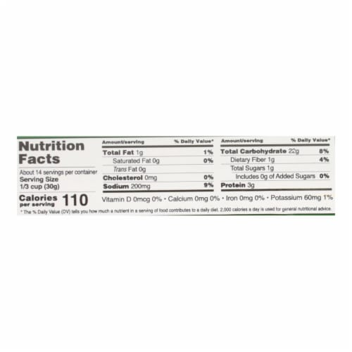 Edward and Sons Organic Italian Herb Breadcrumbs - Case of 6 - 15 oz. Perspective: back