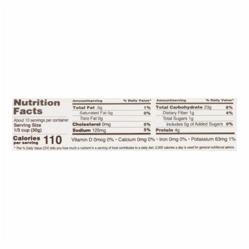 Edward and Sons Organic Panko Breadcrumbs - Case of 6 - 10.5 oz. Perspective: back