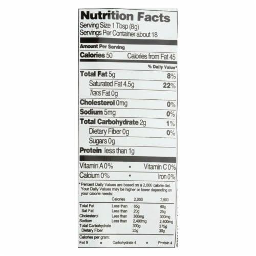 Native Forest Vegan Milk Powder - Coconut - Case of 6 - 5.25 oz. Perspective: back