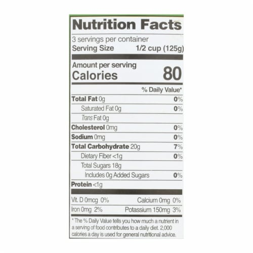 Native Forest Organic Slices - Pineapple - Case of 6 - 15 oz. Perspective: back