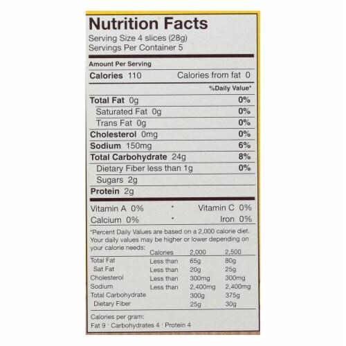 Schar - Crispbread Gluten Free - Case of 6-5.3 OZ Perspective: back