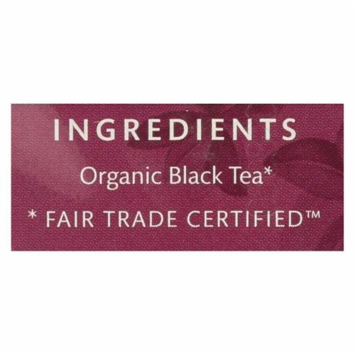Choice Organics English Breakfast Tea Case Perspective: back