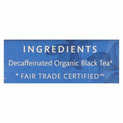 Choice Organics Black Decaffeinated English Breakfast Tea Case Perspective: back