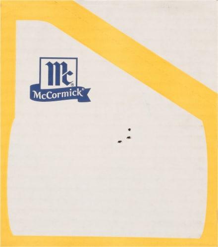 McCormick® Bag 'N Season Original Chicken Cooking Bag & Seasoning Mix Perspective: back