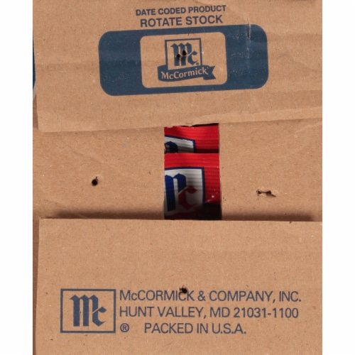 McCormick® Original Buffalo Wings Seasoning Mix Perspective: back
