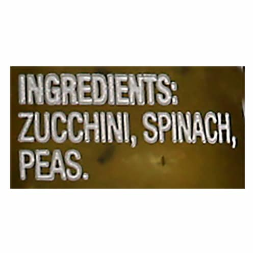 Beech-Nut Naturals Spinach Zucchini & Peas Stage 2 Baby Food Perspective: back