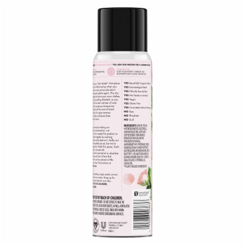 Love Home & Planet Rose Petal & Murumuru Dry Wash Spray Perspective: back