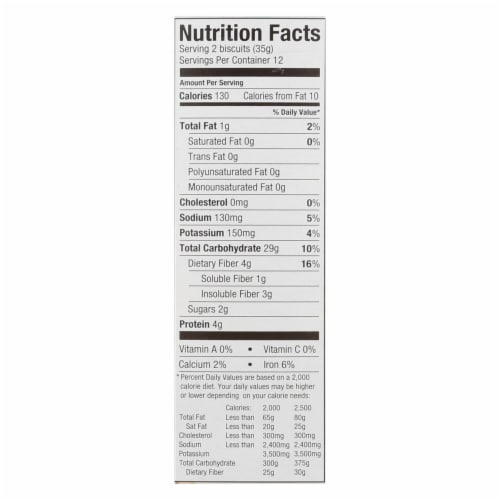 Weetabix Organic Cereal - Case of 12 - 14 oz. Perspective: back