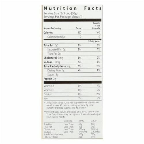 Envirokidz - Amazon Frosted Flakes - Organic - Gluten Free - Case of 12 - 11.5 oz Perspective: back