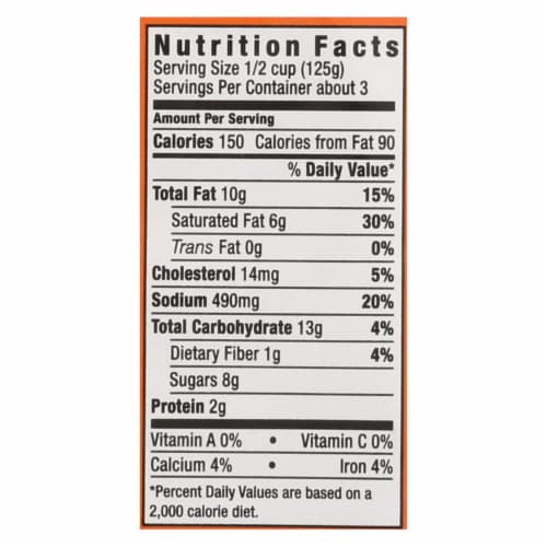 Sharwood Butter Chicken Cooking Sauce - Case of 6 - 14.1 Fl oz. Perspective: back