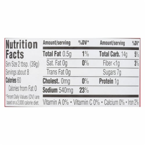 Patak's Concentrated Curry Paste For Butter Chicken - Case of 6 - 11 OZ Perspective: back