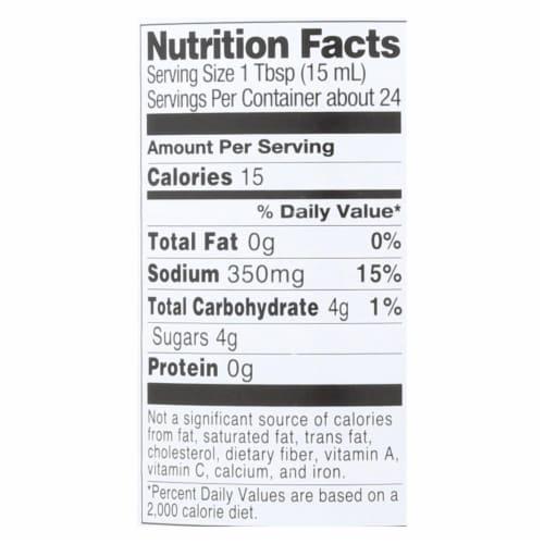 Marukan Rice Vinegar Lite - Seasoned Gourmet - Case of 6 - 12 oz. Perspective: back