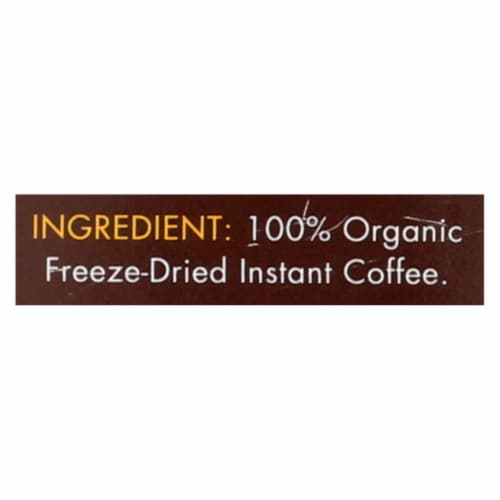 Highground - Coffee Regular Insnt - Case of 6 - 3.53 OZ Perspective: back