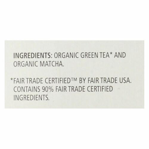 Celestial Seasonings Tea - Organic - Sencha Green - Matcha - Case of 6 - 20 BAG Perspective: back