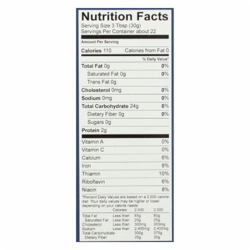 King Arthur Multi Purpose Flour - Case of 6 - 24 oz. Perspective: back