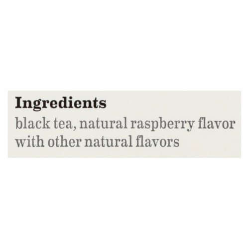 Bigelow Tea Raspberry Royale Black Tea - Case of 6 - 20 Bags Perspective: back