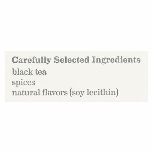 Bigelow Tea Black Tea - Spiced Chai - Case of 6 - 20 BAG Perspective: back