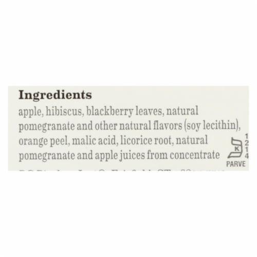 Bigelow Tea Herbal Tea - Pomegranate Pizzazz - Case of 6 - 20 BAG Perspective: back
