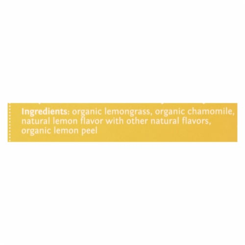 Steep By Bigelow Organic Herbal Tea - Chamomile Citrus - Case of 6 - 20 BAGS Perspective: back