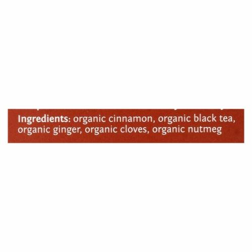 Steep By Bigelow Organic Black Tea - Sweet Cinnamon - Case of 6 - 20 BAGS Perspective: back