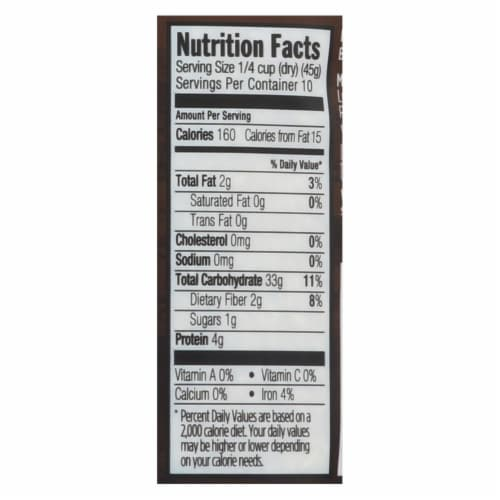 Lundberg Family Farms Sprouted Brown Basmati Rice - Case of 6 - 1 lb. Perspective: back