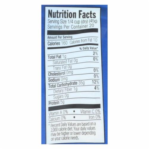 Lundberg Family Farms Organic Sushi White Rice - Case of 6 - 2 lb. Perspective: back
