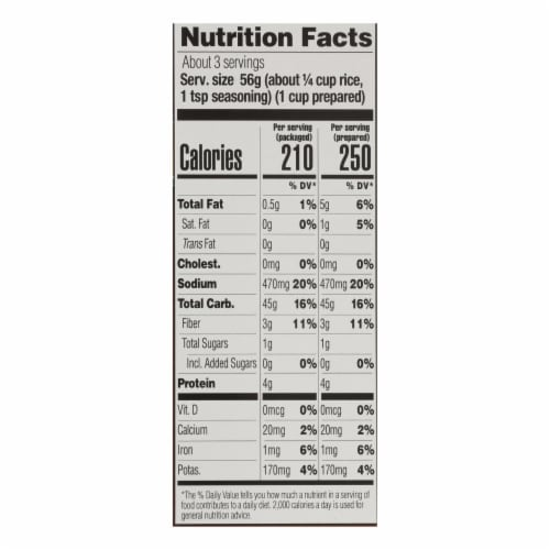 Lundberg Family Farms Whole Grain Rice and Wild Rice - Case of 6 - 6 oz. Perspective: back