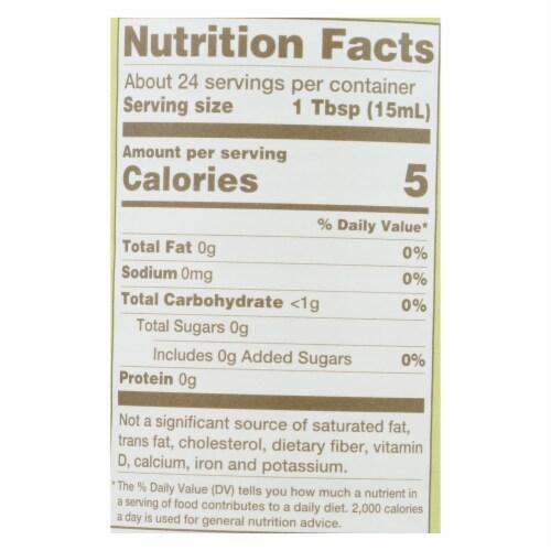 Nakano Vinegar - Organic - Natural Rice - Case of 6 - 12 oz Perspective: back