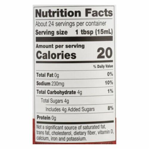 Mizkan - Rice Vinegar Seasoned - Case of 6 - 12 OZ Perspective: back