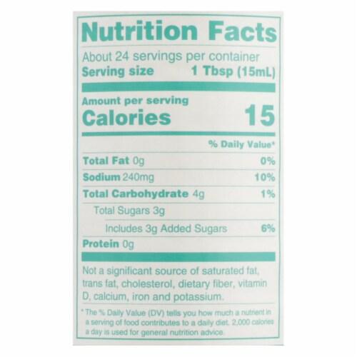 Nakano Rice Vinegar - Case of 6 - 12 Fl oz. Perspective: back