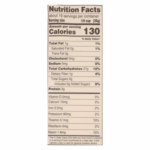 Arrowhead Mills - Organic Brown Rice Flour - Gluten Free - Case of 6 - 24 oz. Perspective: back