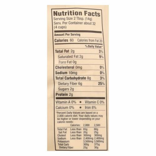 Arrowhead Mills - Organic Coconut Flour - Case of 6 - 16 oz. Perspective: back