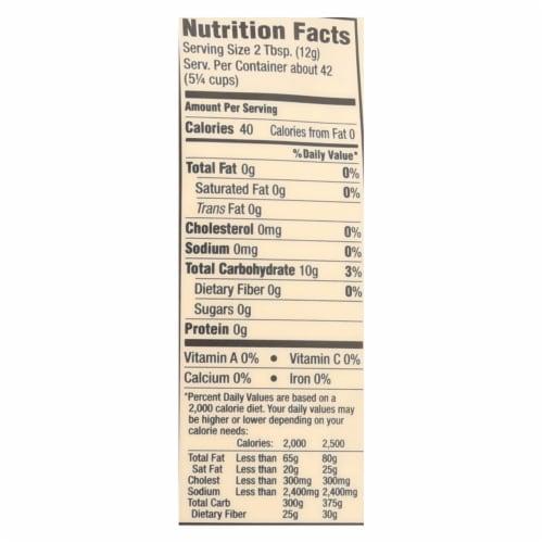 Arrowhead Mills - Organic Tapica Flour - Case of 6 - 18 oz. Perspective: back