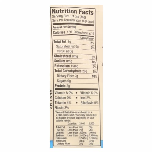 Arrowhead Mills - Organic Flour - All Purpose - Case of 6 - 20 oz Perspective: back