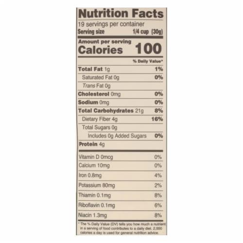 Arrowhead Mills - Organic Ret Flour - Case of 6 - 20 oz. Perspective: back