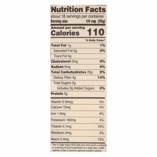 Arrowhead Mills - Organic Spelt Flour - Case of 6 - 22 oz. Perspective: back
