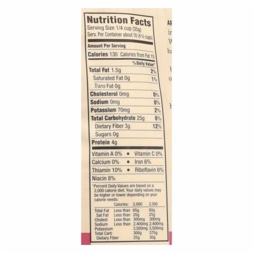 Arrowhead Mills - Organic Millet Flour - Gluten Free - Case of 6 - 23 oz. Perspective: back