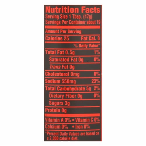 House Of Tsang Classic Stir-Fry Sauce  - Case of 6 - 11.5 OZ Perspective: back